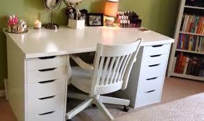 ikea linnmon alex desk vanity white