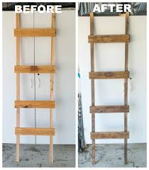 how to make a rustic ladder for under 20