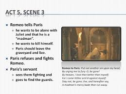 romeo and juliet act summary notes act 5 scene 3<br