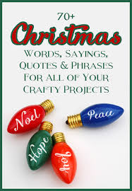 List Of Quotes Stunning Mega List Of Christmas Words Sayings Quotes And Phrases