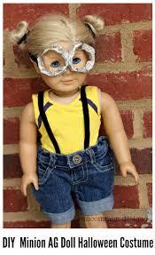 diy minion american girl costume via uncommon designs doll crafts
