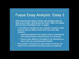 duke fuqua school essay analysis season write like an  duke fuqua school essay analysis 2013 2014 season write like an expert