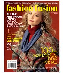 Joann Fabrics Patterns Inspiration Fashion Fusion Video Pairs Our Patterns With JoAnn Fabrics