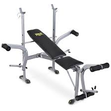 Everlast Standard Weight Bench With Leg Press  143634 At Everlast Bench Press