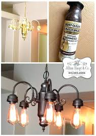 brass chandelier painted black spray paint brass chandelier best brass chandelier makeover ideas on paint daydream