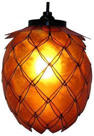 unique home lighting. Unique Hanging Lamp Design For Home Decorative Lighting By OM Gallery Capiz Lotus