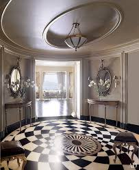 elegant rooms with marble flooring