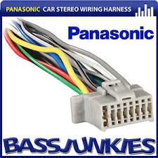 panasonic car stereo radio 16 pin iso replacement wiring loom image is loading panasonic car stereo radio 16 pin iso replacement