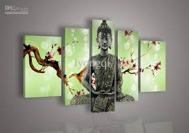 25 40cm 2 20 50cm 2 20 60cm 5pcs set allow mix order the modern wall art home abstract decorative flower oil paintings framed 100 hand painted  on plum flower canvas wall art with best hand painted hi q wall art home decor flower oil painting on