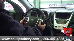 Phillips Chevrolet - 2014 Chevy Equinox - Interior Walk Around ...