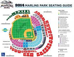 Marlins Ballpark Seating Chart Furniture Cool Nats Stadium Seating For Enjoy Watching Game