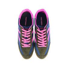 Tretorn - Tretorn Rawlins2 Suede Nylon Fashion Sneaker - 5.5M - Rich Ivy /  Lyons Blue / Neon Fuschia - Walmart.com - Walmart.com