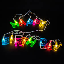 Happy Birthday Led String Lights Details About 1 6 Metre 13 Led Fairy String Lights Surprise Happy Birthday Sign Party Colours