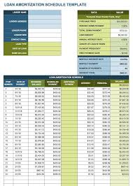 Excel Payment Tracker Template Car Payment Amortization Spreadsheet Mozo