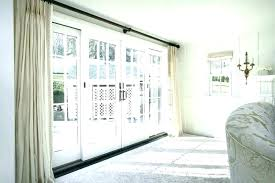 sliding glass door treatments big sliding glass doors glass door curtains large sliding glass door curtains