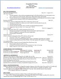 resume character traits