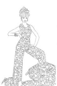Small Picture Vogue Coloring Pages Fashion Design Coloring Pages for Girls