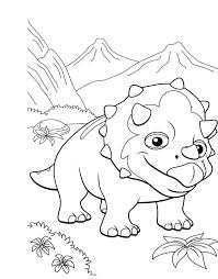 dinosaur train coloring page book kids books pages free printable