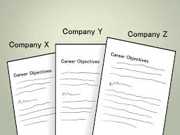 how to write a career objective 7 steps pictures wikihow
