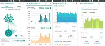 Exercise Chart App Asus Vivowatch Review A Fitness Watch With Style And