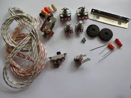 wiring kit for jazzmaster custom pots slide switch right angle wiring kit for jazzmaster custom pots slide switch right angle toggle switch bracket rollder knob capacitor wire