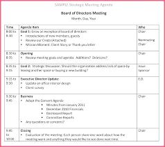 Board Report Template Word Business Meeting Report Template