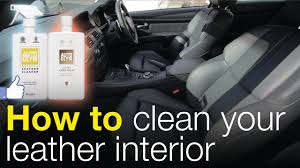 how to clean your leather interior autoglym leather cleaner care balm