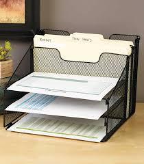 blue mesh desktop file organizer w 5 compartments office supply storage holder desktop file organizer black mesh and filing