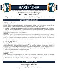 Resume For Bartender Custom Pin By Job Resume On Job Resume Samples In 48 Pinterest Sample