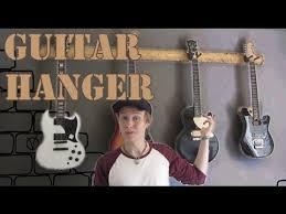 guitar hanger build you