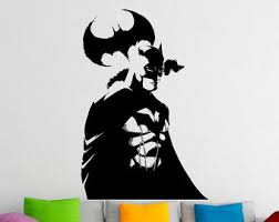 Small Picture Superhero wall decal Etsy