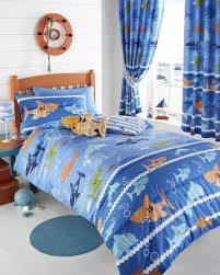 69 best Funky Kids Bedding images on Pinterest   Beautiful, Bed ... & Sea World - Duvet Cover Set Features Sharks, Dolphins & Fish all having fun  on Adamdwight.com