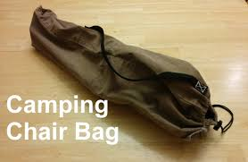 folding chairs bag. Unique Folding Camping Chair Bag  From A Pant Leg On Folding Chairs K