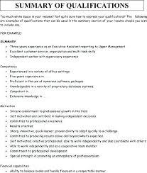 Professional Summary Resume Sample Wikirian Com