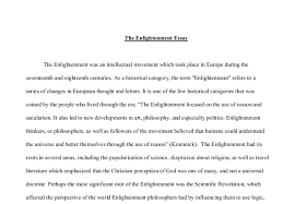 the enlightenment essay a level history marked by teachers com document image preview