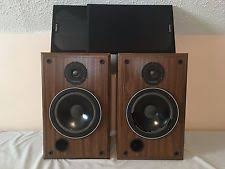 infinity qa speakers. infinity sm 80 walnut finish vintage main/stereo bookshelf speakers -need refoam qa i