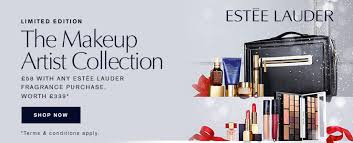 sets glamour and boots estee lauder the makeup artist collection only 58 with any estee lauder