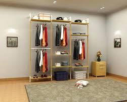 Diy Pipe Coat Rack Impressive Diy Clothes Rack Closet Rack Simple But Alluring Clothing Diy Steel