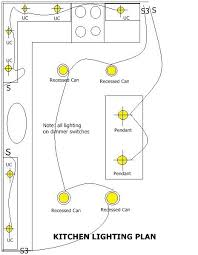 a kit wiring diagram house home kitchens cable kitchen lighting plan jpg