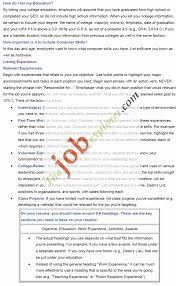 Cover Letters For High School Students With No Experience Cover ...