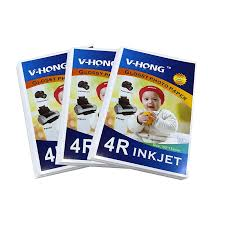 Glossy <b>Paper</b> A6 and 4R <b>size</b> apply to Office and School Home party ...