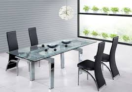 modern glass dining table. Exellent Dining Astounding Inspiration Modern Glass Dining Table 14 And
