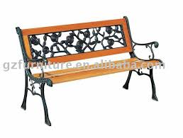 garden bench wrought iron and wood nrhcares com
