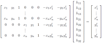 once these points are selected the graphy can be found using solving a simple system of linear equations the system of equations in the form of ah b