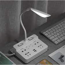 Ổ cắm điện đa năng tích hợp đèn bàn và cổng USB