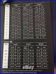Orca Equip Size Chart Full Mens Wetsuit Orca