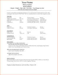 Dance Resume Outline Samples Yoga Teacher Sample Template Dancer