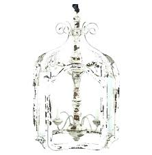 shabby chic chandelier scroll white antique chan
