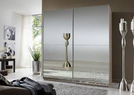 mirror wardrobe. saxony sliding double mirror wardrobe | assembled bedroom furniture thebedroomplace.co.uk i
