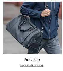 pack up men s duffel bags